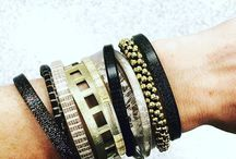 CBA Arm Party / Stack them, mix them, match them. The combinations are endless with our Skinnies, Cuffs, and Bracelets!