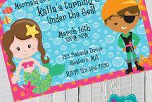 Lulu's Pirates & Mermaids Birthday