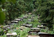 fotografías extrañas y lugares abandonados