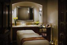 Claudia's massage room