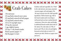 Shellfish Recipes / Crab, Clam, Oysters and Shrimp Recipes