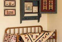Quilts in interior / Квилты в интерьере