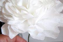 divers fleurs papiers et autre
