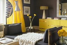 Cheerful Rooms / Rooms with bright colors that make us smile