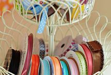 Craft Rooms / Inspired and beautiful ways to organise a craft room and supplies!