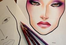 Makeup / makeup, účesy