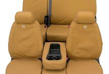 Seat Covers / If you need to protect your vehicle's seats from dirt, mud, grease, snow, water a seat cover is what you need. They come in many different varieties, water proof, leather, leather imitation. There is sure to be a cover that does just what you need.
