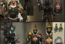 Scifi characters