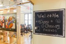 DonorsChoose.org New Office Space / American Standard Products Help Reenergize New Office Space for DonorsChoose.org