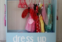 Dress up rack idea