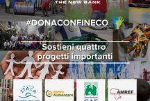 #DonaConFineco / Sosteniamo insieme quattro progetti importanti!