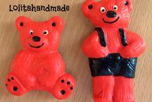 Bear Clan / Bear Clan Magneți de frigider La comandă se pot alege culorile!