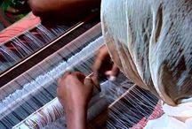 Video weaving. Видео о ткачестве.