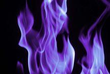 Purple Flame ...