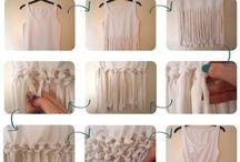 D.i.y shirts