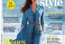 Cover burda style / Cover von burda style und Sonderheften / by burda style