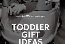 """Toddlers / Your baby has been growing bigger and stronger every day. At one year, you'll be sure to notice exciting cognitive, emotional, and social development starting in your toddler. They are learning to respond to his or her name, exploring and eating more independently, walking and running, and using a growing vocabulary. With a little help and support, we will get through the wonderful """"terrible-twos"""" together!"""