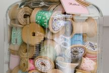 Chic Craft Supply Storage Ideas
