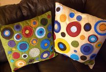 Quilts and Pillows and Sewing / Bedding