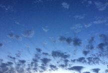 Clouds..( nuvole ) / Il cielo, le nuvole in movimento...