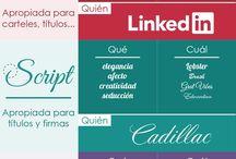 Fuentes y tipografía web