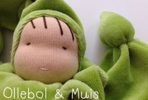 Waldorf style dolls / cuddling dolls for sale / Handmade by Ollebol & Muis