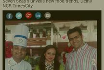 COVERAGE IN TIMESCITY.COM... Veterans in hospitality & catering Seven Seas group redefines wedding menu. Watch out for the coverage in timescity.com.