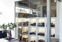 VIN inspiration / Inspiration til indretning af vinopbevaring når du bygger nyt hus med NORDHUSE.