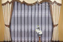 dekoracja okien i stołów