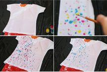 Fabric Paint T-Shirt Ideas