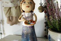 Keramika figurky