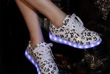 LED Women's sneakers trend