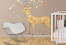 Decorations and toys - baby's room