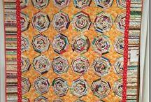 Quilts de bandes/Strip quilts/String quilts