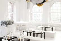 Theme :: Black & White Party / Black and White party styling, ideas and inspiration