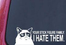 Grumpy Cat Galore! / by Brenda Hensley