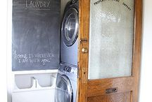 Wash Out! / Cool laundry rooms ....