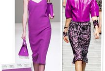 Radiant Orchid - Pantone Color of the Year for 2014  / by Krystal Rushing