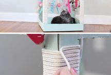 diy cat stuff  <3