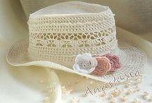 sombreros gorros y otros a crochet