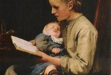 mães lendo