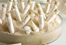wedding in sand