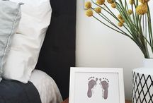 Monochrome for baby / Monochrome baby gifts and keepsakes for the home and nursery