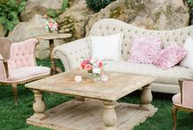 Wedding Lounges / Sophisticated and sleek or rustic and comfy, the possibilities are endless for when styling your wedding lounge.