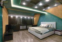 Spálňa / Inšpirácia dekoratívnych náterov vo vašich spálňach.
