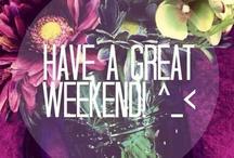 Weekend ❤