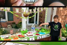 Ashton's Minecraft Party