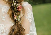 hair&flower / 髪の毛とお花の可愛らしさ。