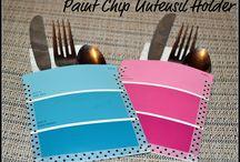 Paint Chip Sample Art
