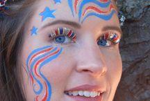 Fun face paint / by Maria Molina
